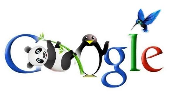 Санкции поисковой системы Google, алгоритмы Пингвин, Панда, Колибри