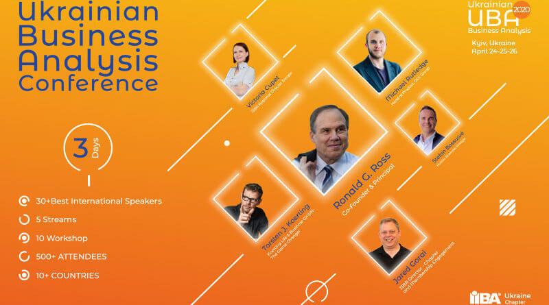 Конференция Ukrainian Business Analysis – 2020