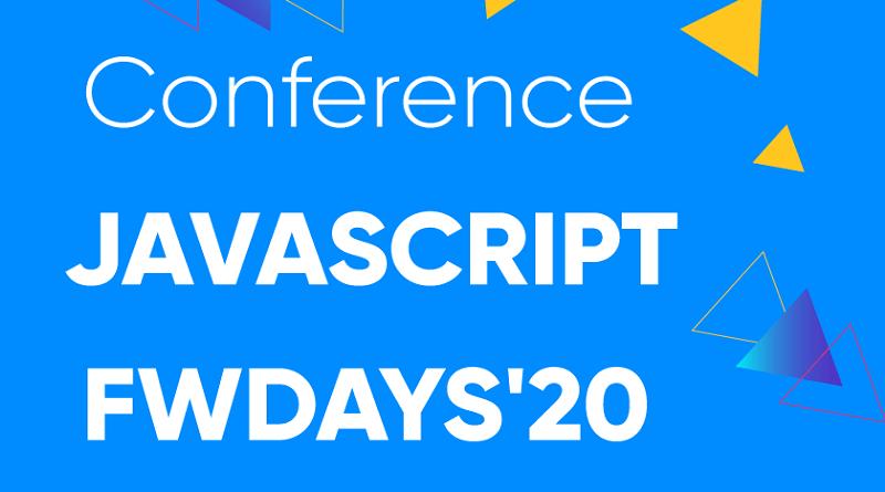 Конференция JavaScript fwdays'20