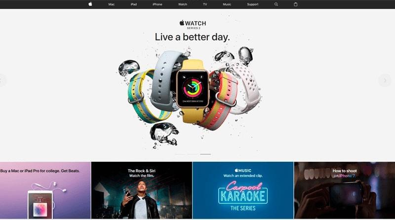 Плоский дизайн Apple