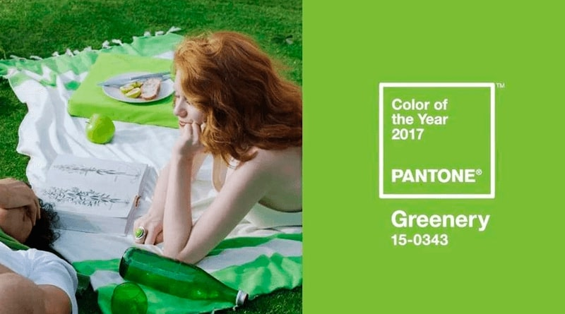 Цвет Greenery Netrocket
