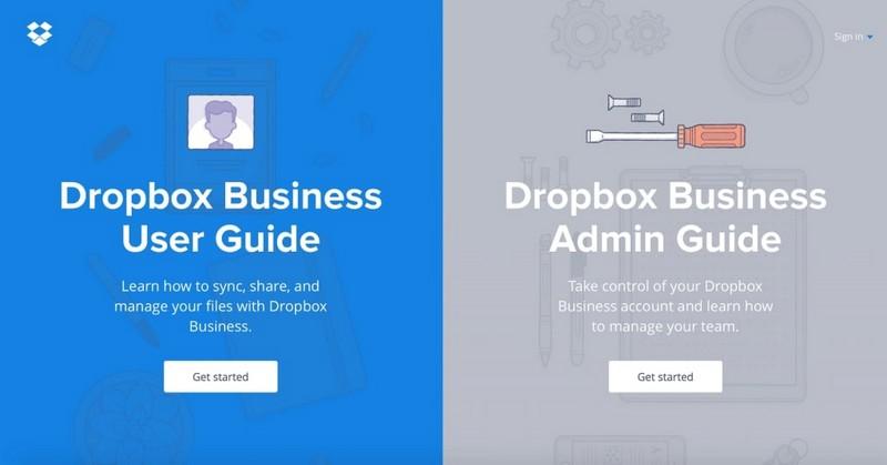 «Разделенный контент» от Dropbox