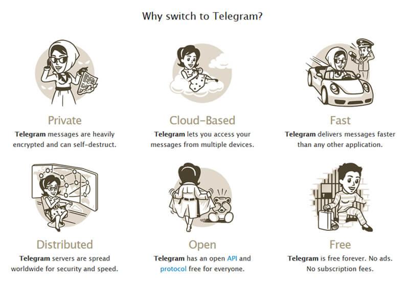 Почему стоит выбрать Telegram