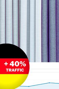 Как мы увеличили органический трафик интернет-магазина тканей в Германии на 40%