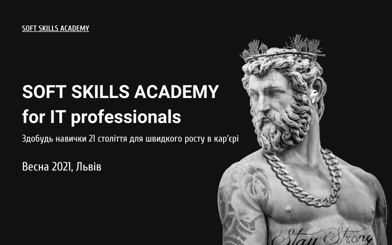 SOFT SKILLS ACADEMY for IT professionals