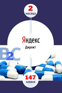 Лидогенерация в Яндекс.Директ: +147 обращений за 2 месяца в B2С нише